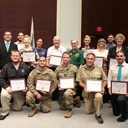 Councilman Shelley Honors 2017 Military Appreciation Day Committee