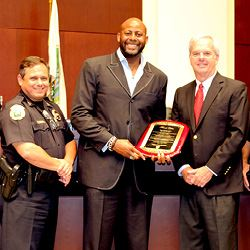 Mayor Porter Honors Chaplain Brown
