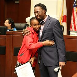 Councilman Williams Honors Lia Ottinot