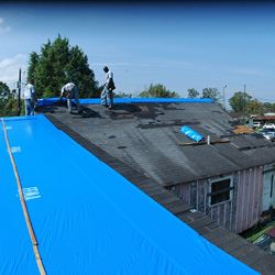 FEMA Operation Blue Roof