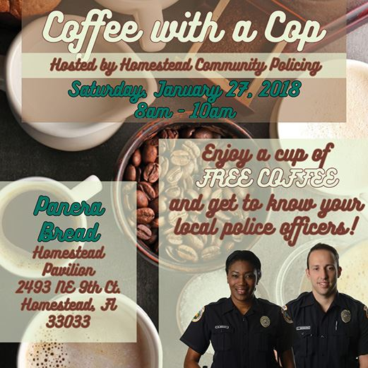 Coffee with a Cop January 2018