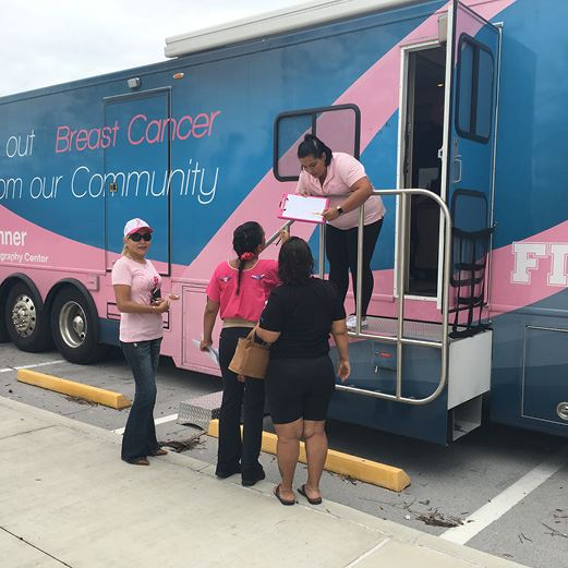 Free Mammograms at City Hall