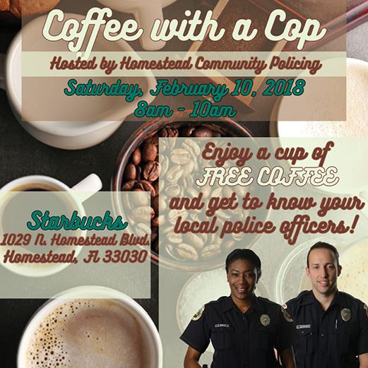 Coffee with a Cop February 2018