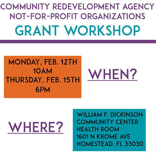 CRA NFP Grant Workshop 2018