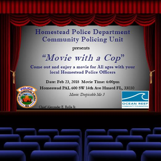 Movie with a Cop February 2018