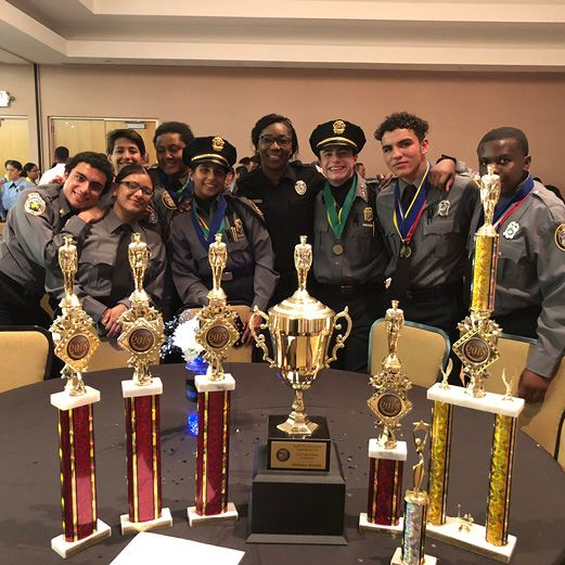 Homestead Police Explorers Win