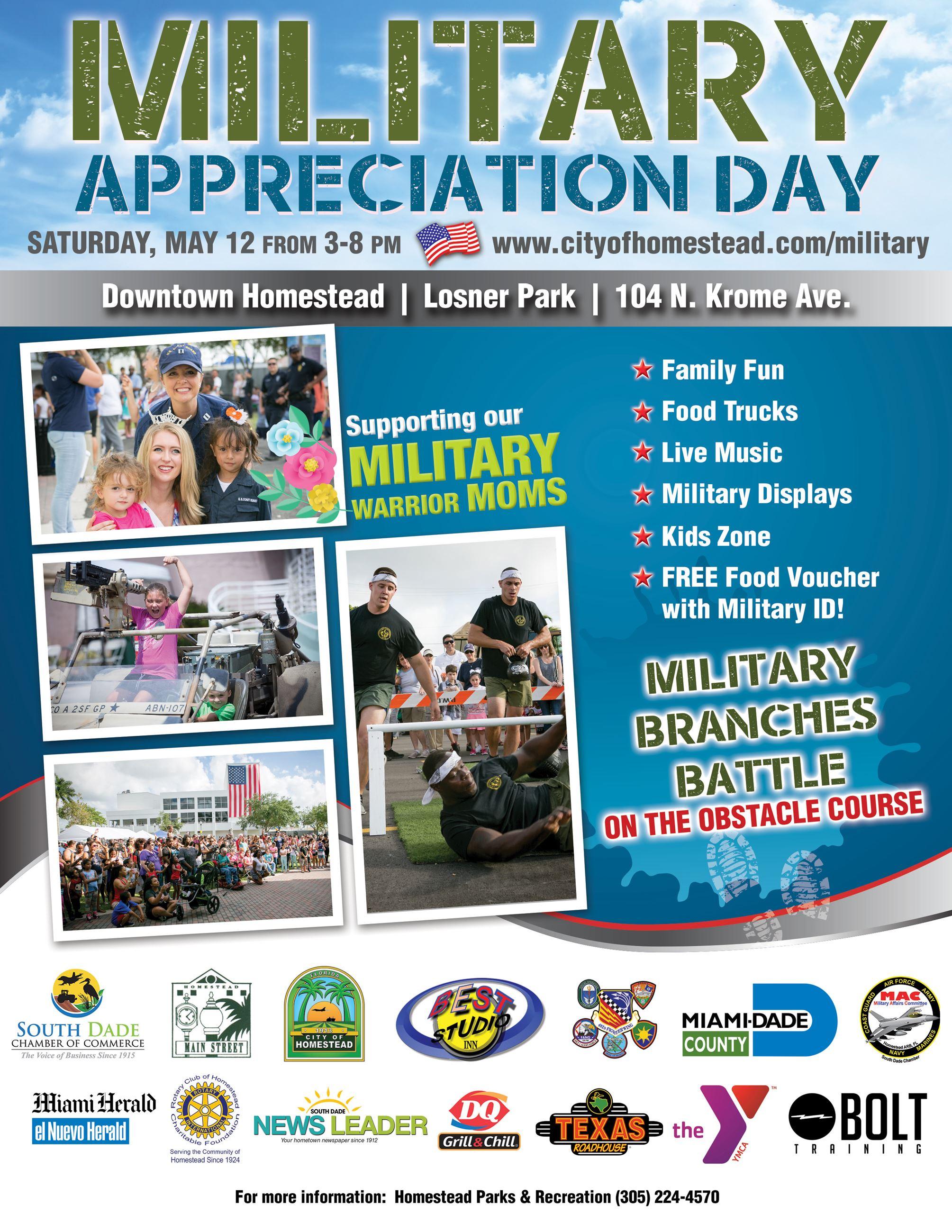 Military Appreciation Day 2018 Digital Flyer English