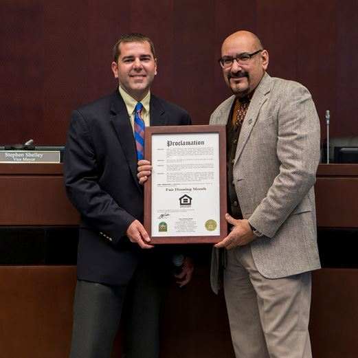 Fair Housing Month Proclamation April 2018