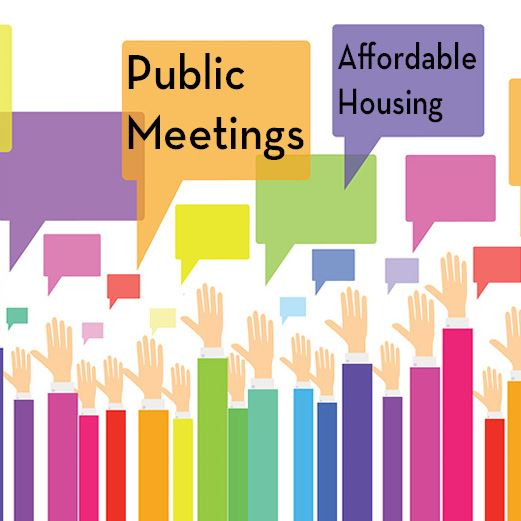 Affordable Housing Public Meetings