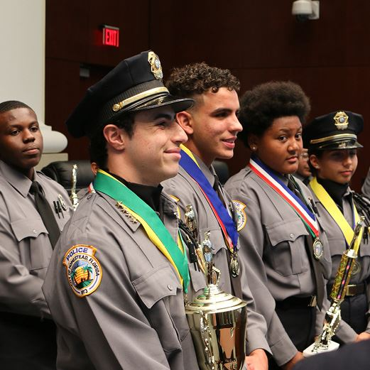 Roth Police Explorers Win