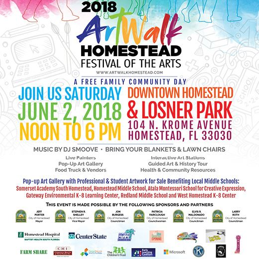 2018 ArtWalk Homestead Reschedule