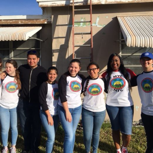 MYC Wins for MLK Day of Service