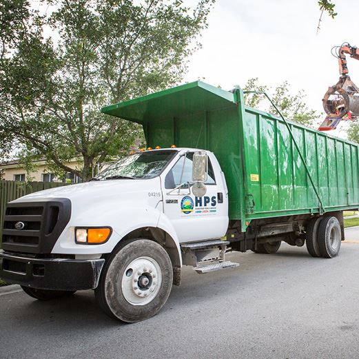 HPS Solid Waste Truck
