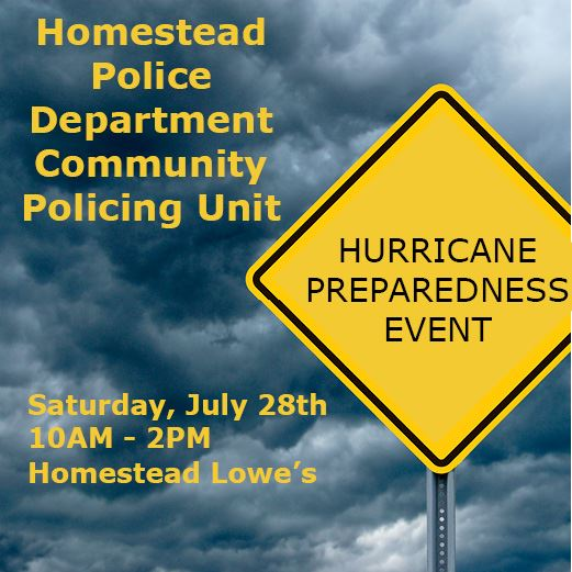 Community Policing Hurricane Prep Event 2018