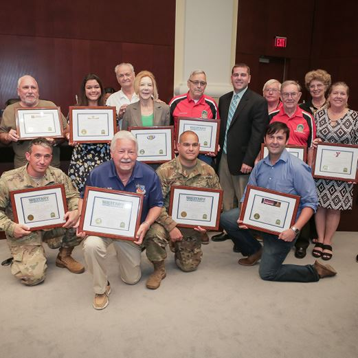 Vice Mayor Shelley Recognizes 2018 Military Appreciation Day Sponsors and Committee Members