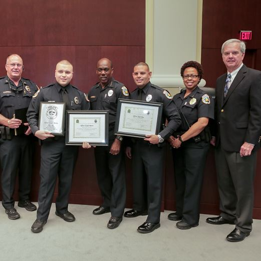 Porter Officers of the Month May June 2018