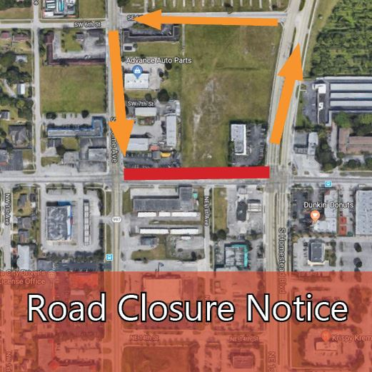 SW 328th Street Closure Sept 18 2018