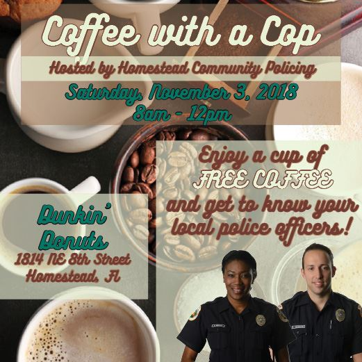 Coffee with a Cop November 2018
