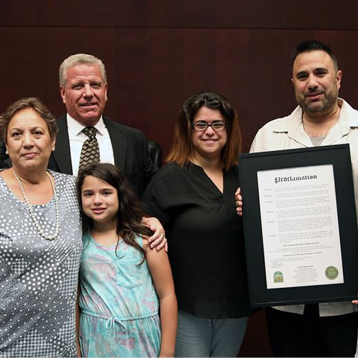 Frank Lopez Day Burgess Proclamation