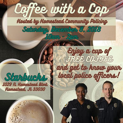 Coffee with a Cop December 2018