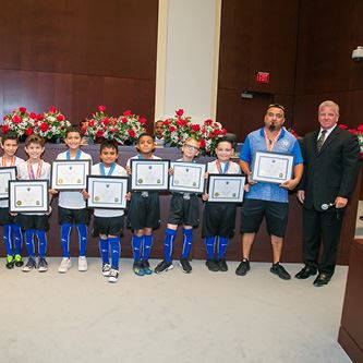 Burgess AYSO Recognition