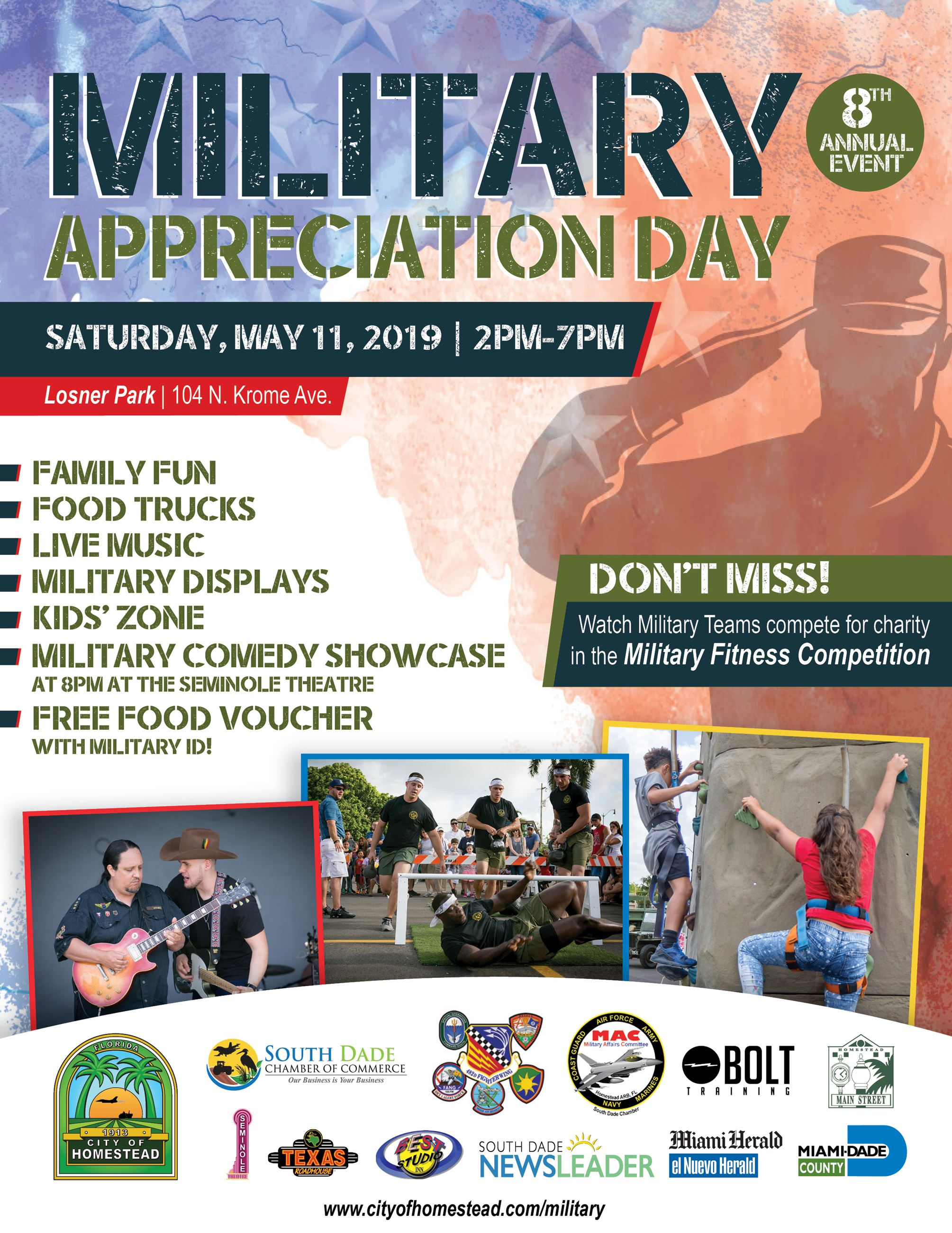Military Appreciation Day 2019 Digital Flyer