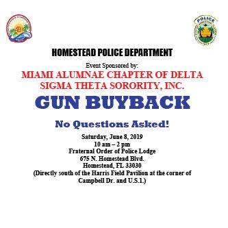 HPD Gun Buyback June 2019