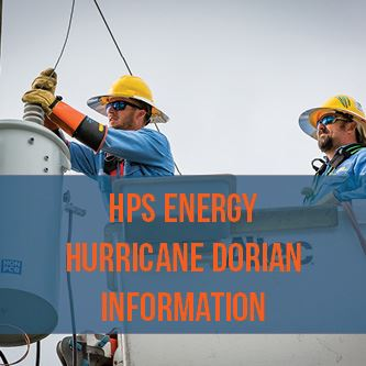 Hurricane Dorian HPS Info Graphic