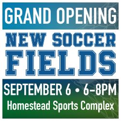 Soccer Fields Grand Opening Web News
