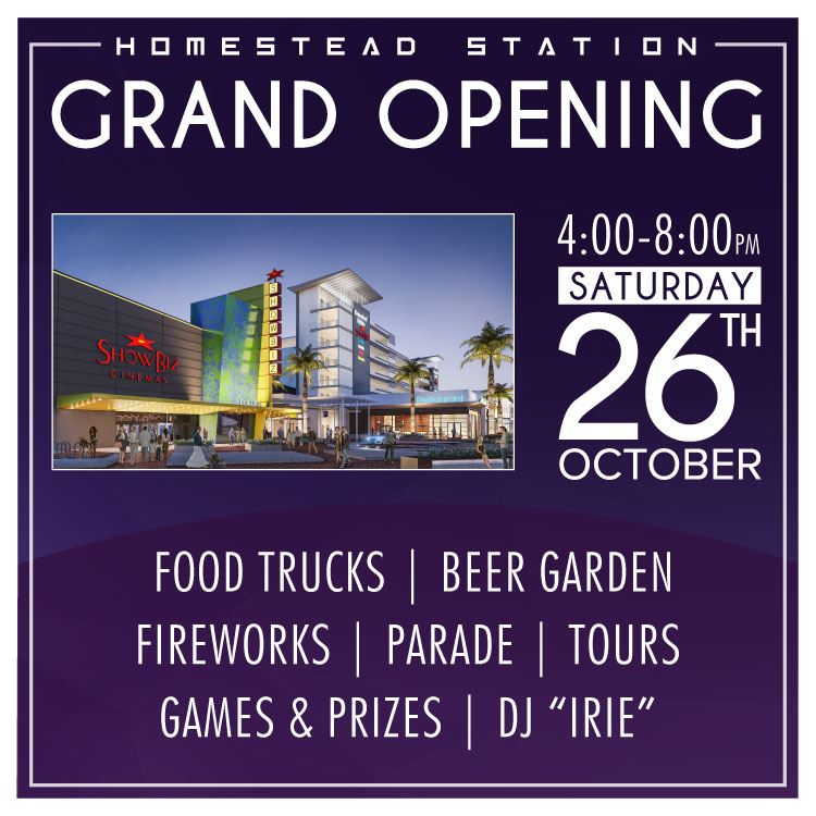 Homestead Station Grand Opening News
