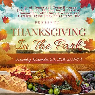 Thanksgiving in the Park 2019