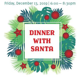 Dinner with Santa 2019 News Graphic