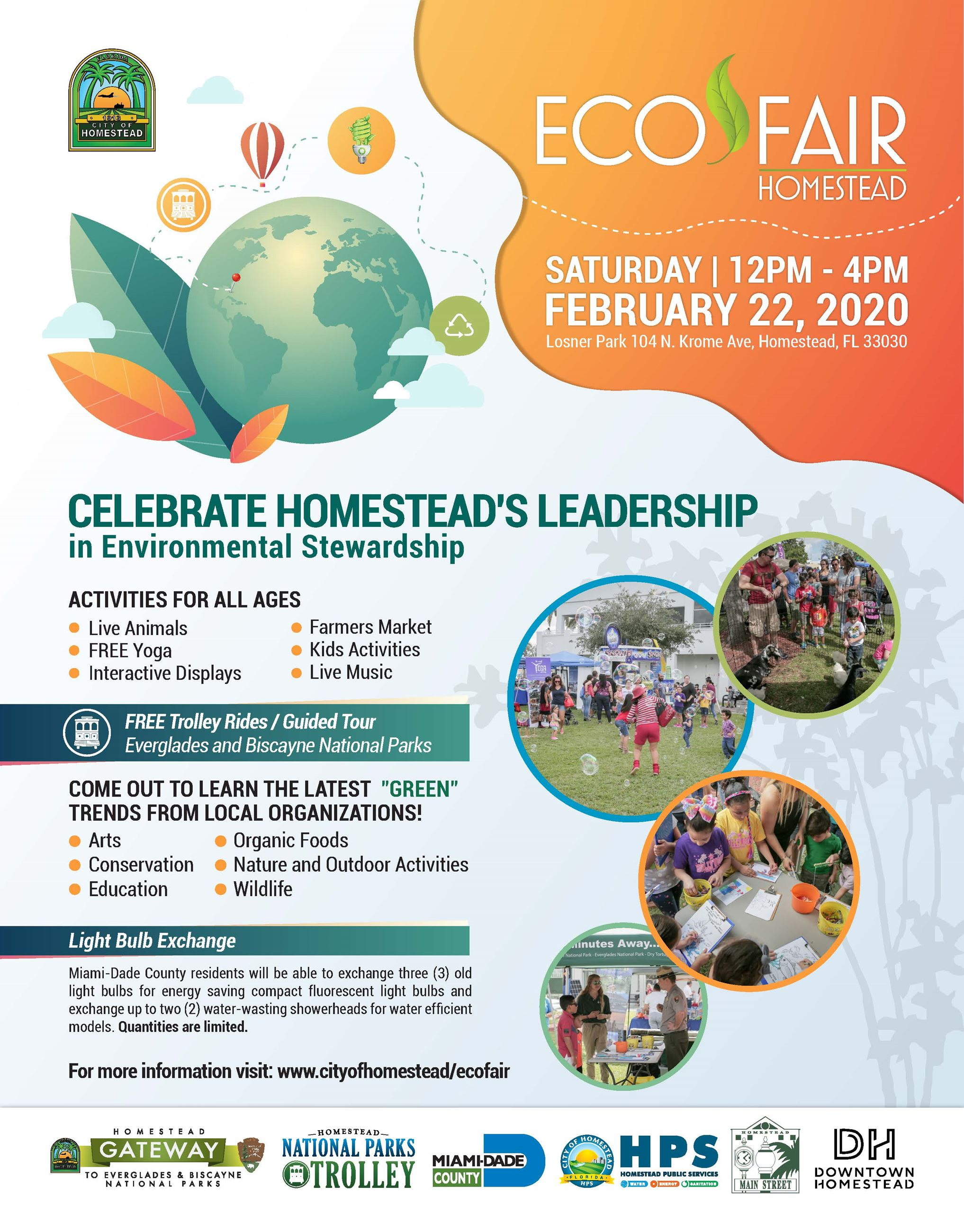 Homestead Eco Fair Flyer 2020
