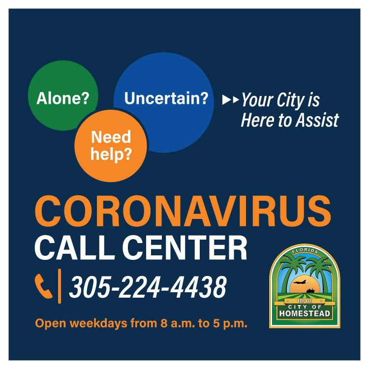Coronavirus Hotline Graphic