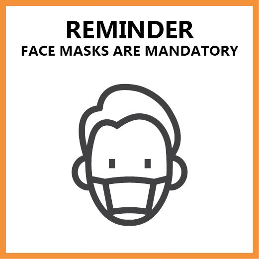 Masks are Mandatory