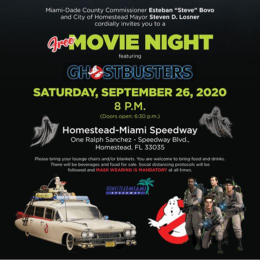 Census Movie Night Flyer