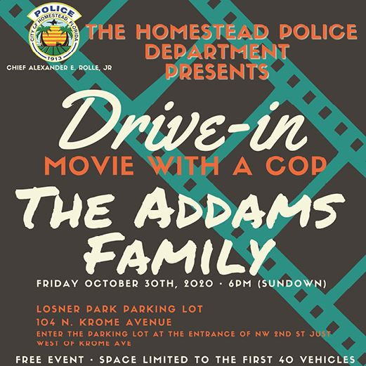 HPD Movie with a Cop October 2020