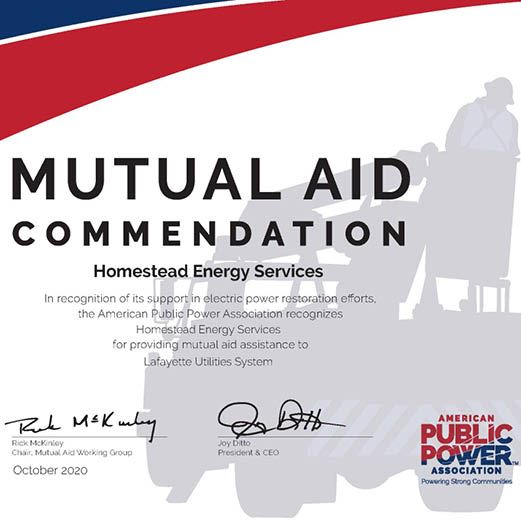 HPS Mutual Aid Commendation Web News