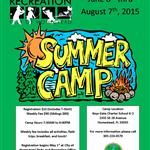 2015 Summer Camp Flyer