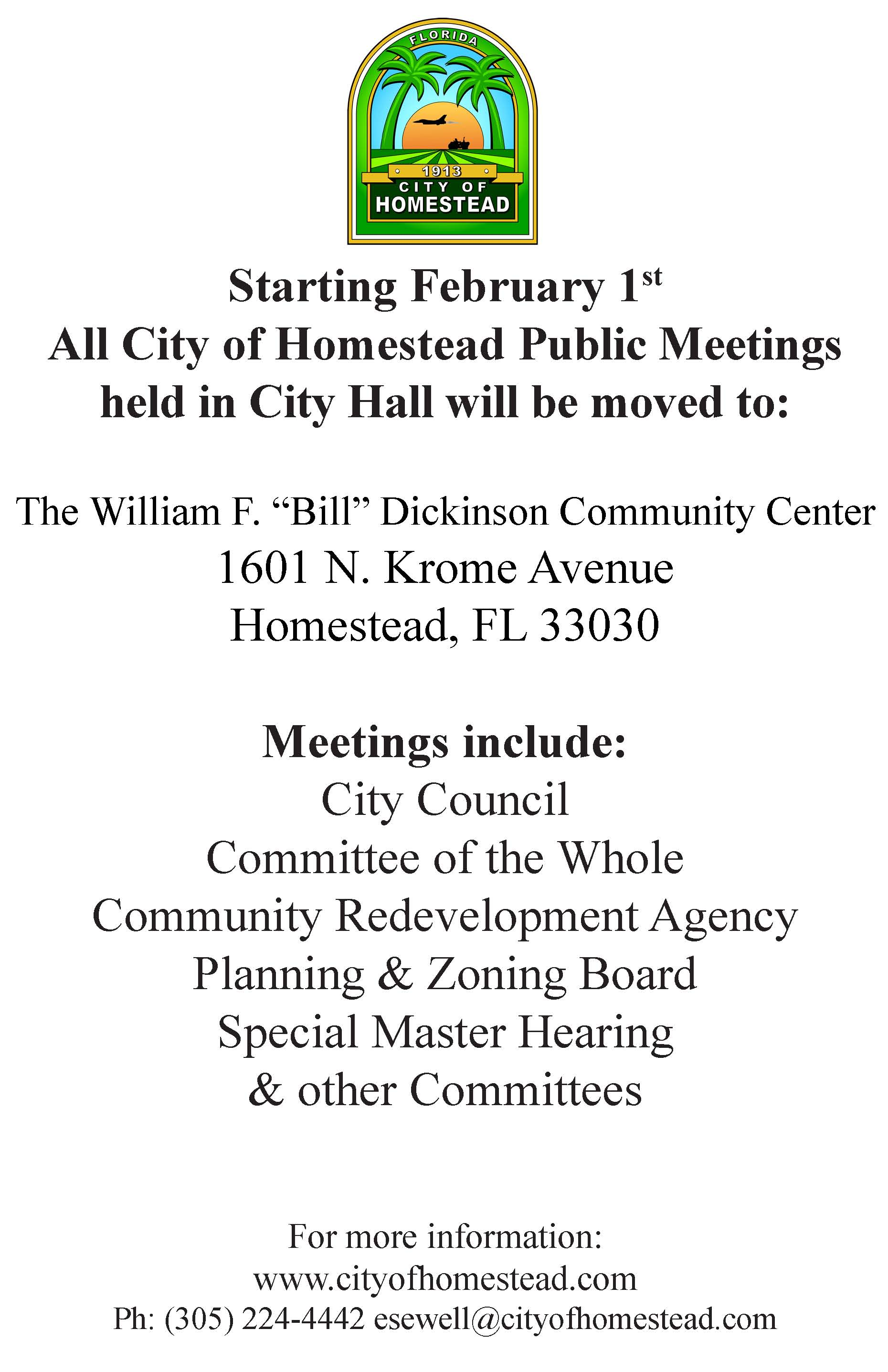 Council Meeting Move