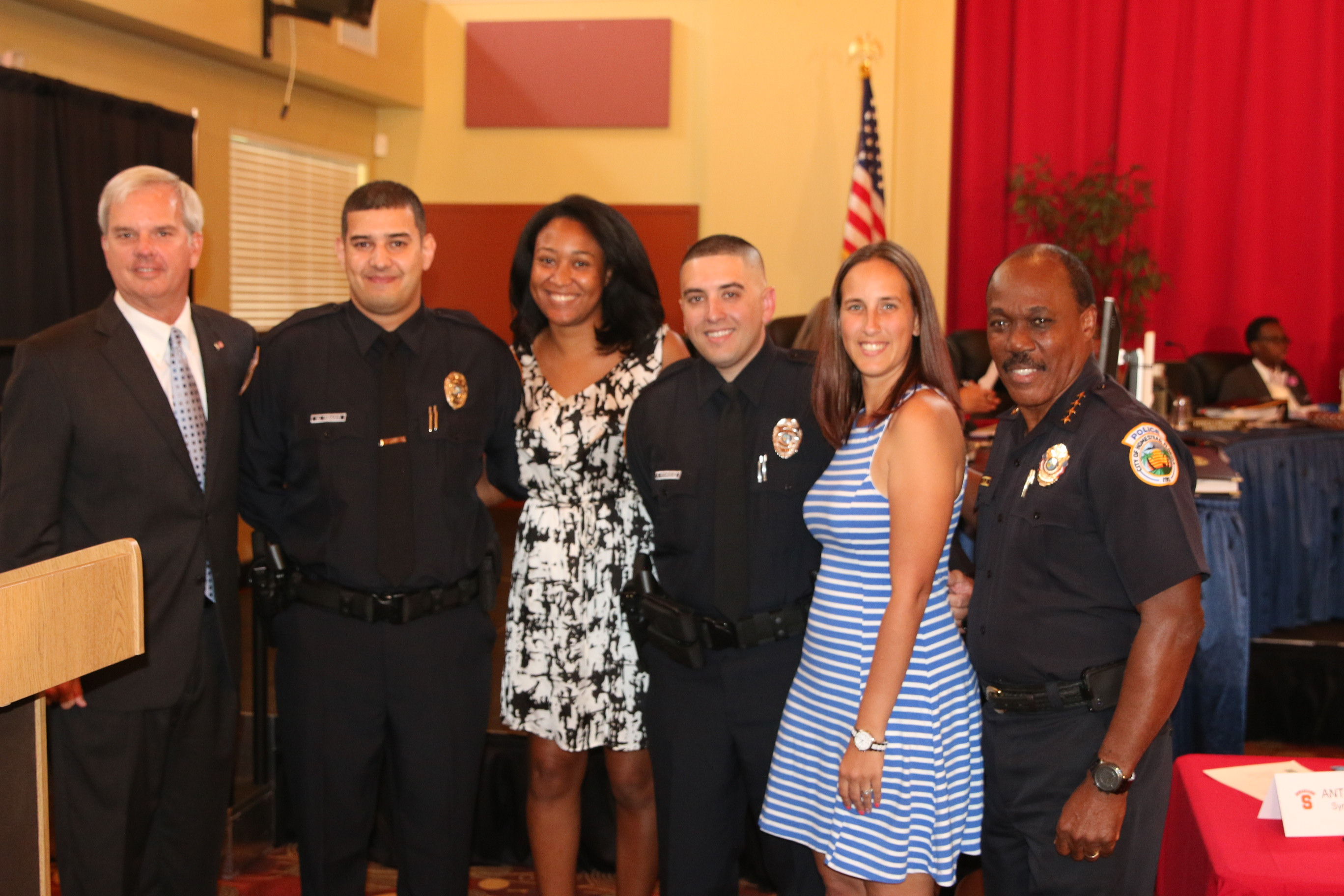Three New Reserve Officers Join the Ranks of the Homestead Police Department