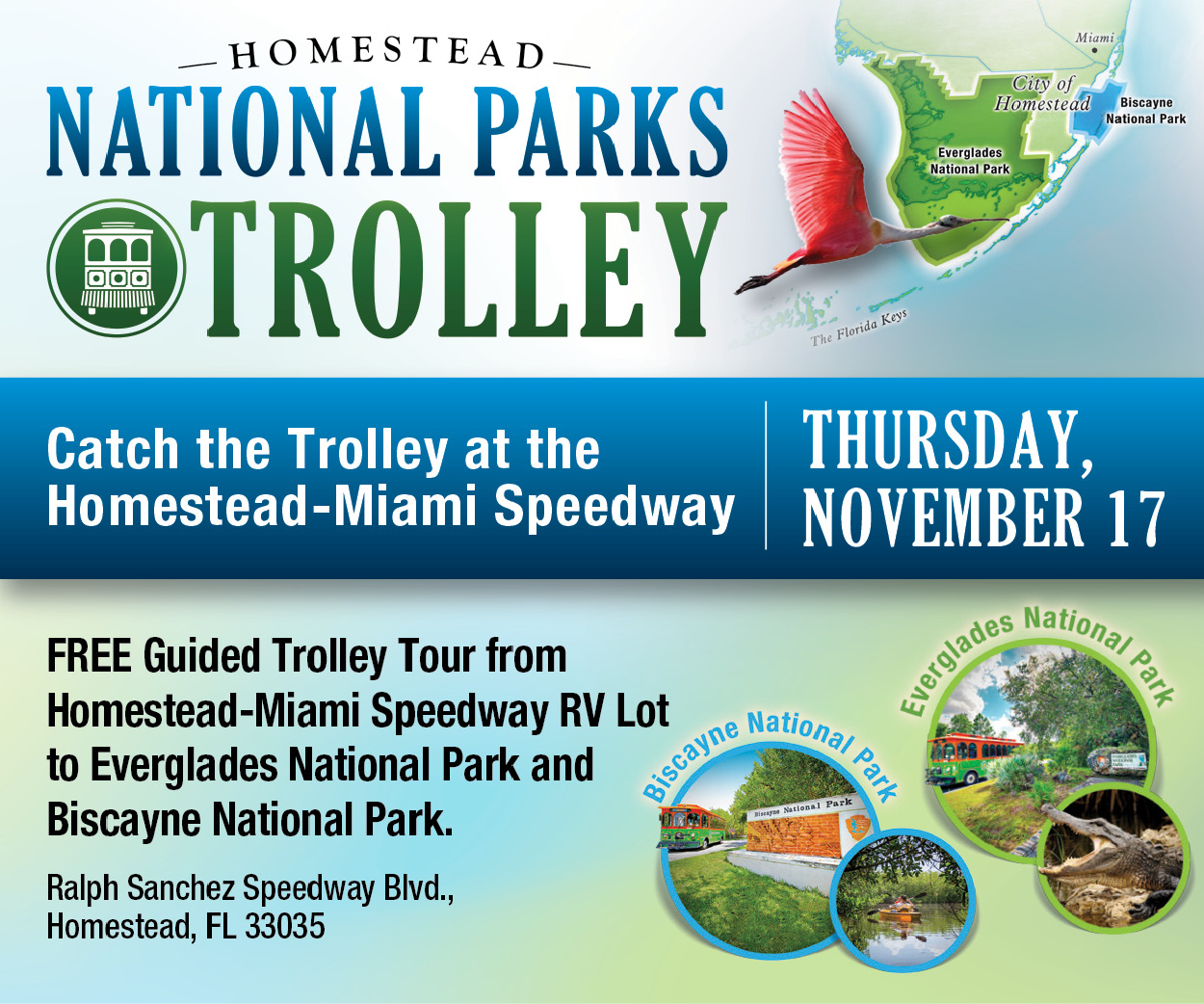 National Parks Trolley Special Service