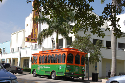 National Parks Trolley Downtown