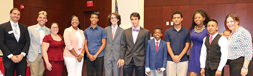 VM Fairclough Recognizes YMCA Youth in Government Program