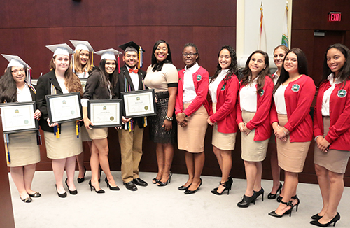 Vice Mayor Fairclough Recognizes MYC Graduates
