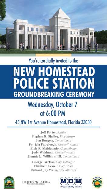 Police Station Groundbreaking