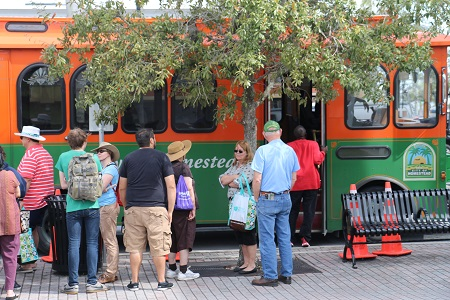 National Parks Trolley Breaks Records