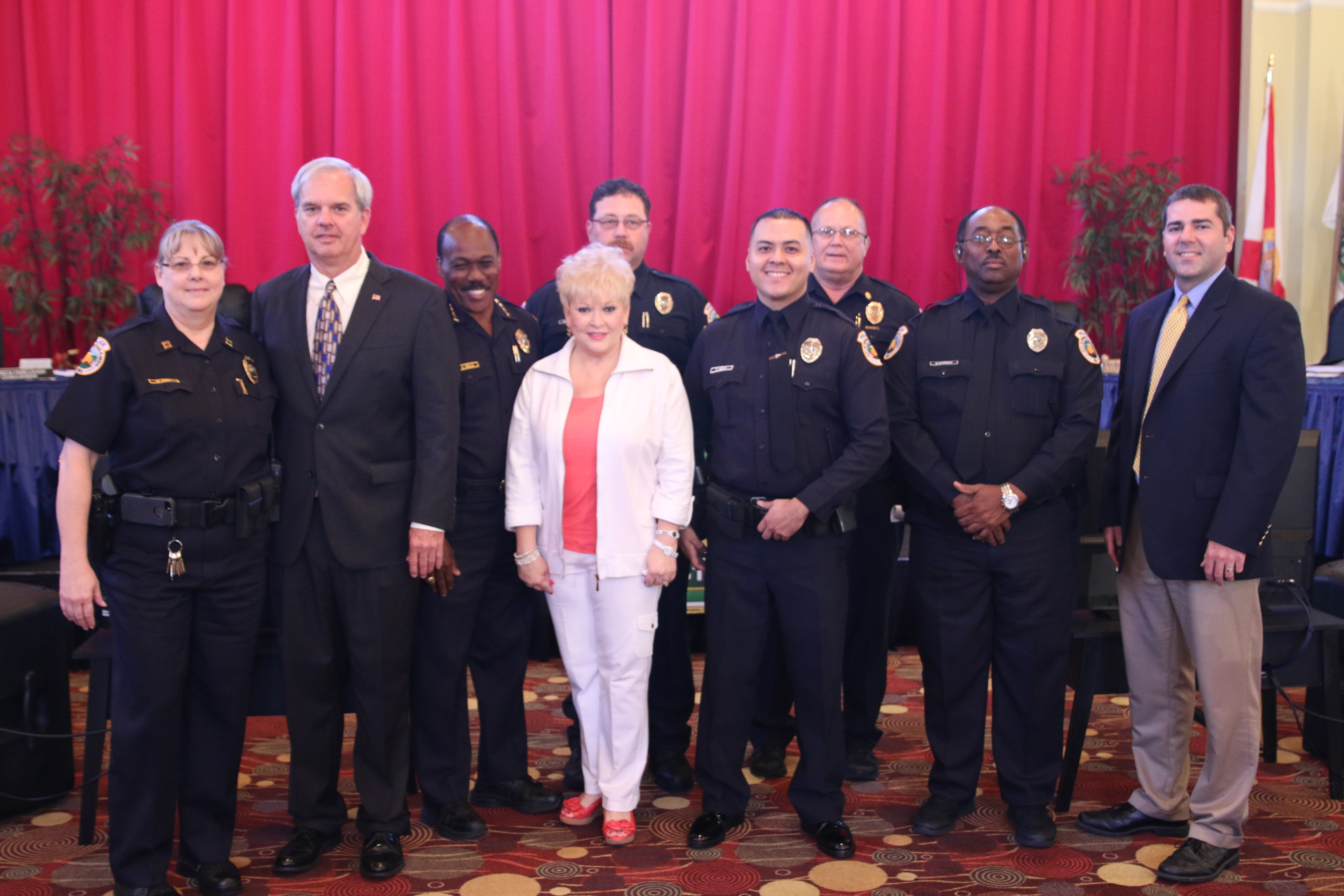 Homestead Police Department Promotes Two Reserve Sergeants, Welcomes One New Officer to the Force