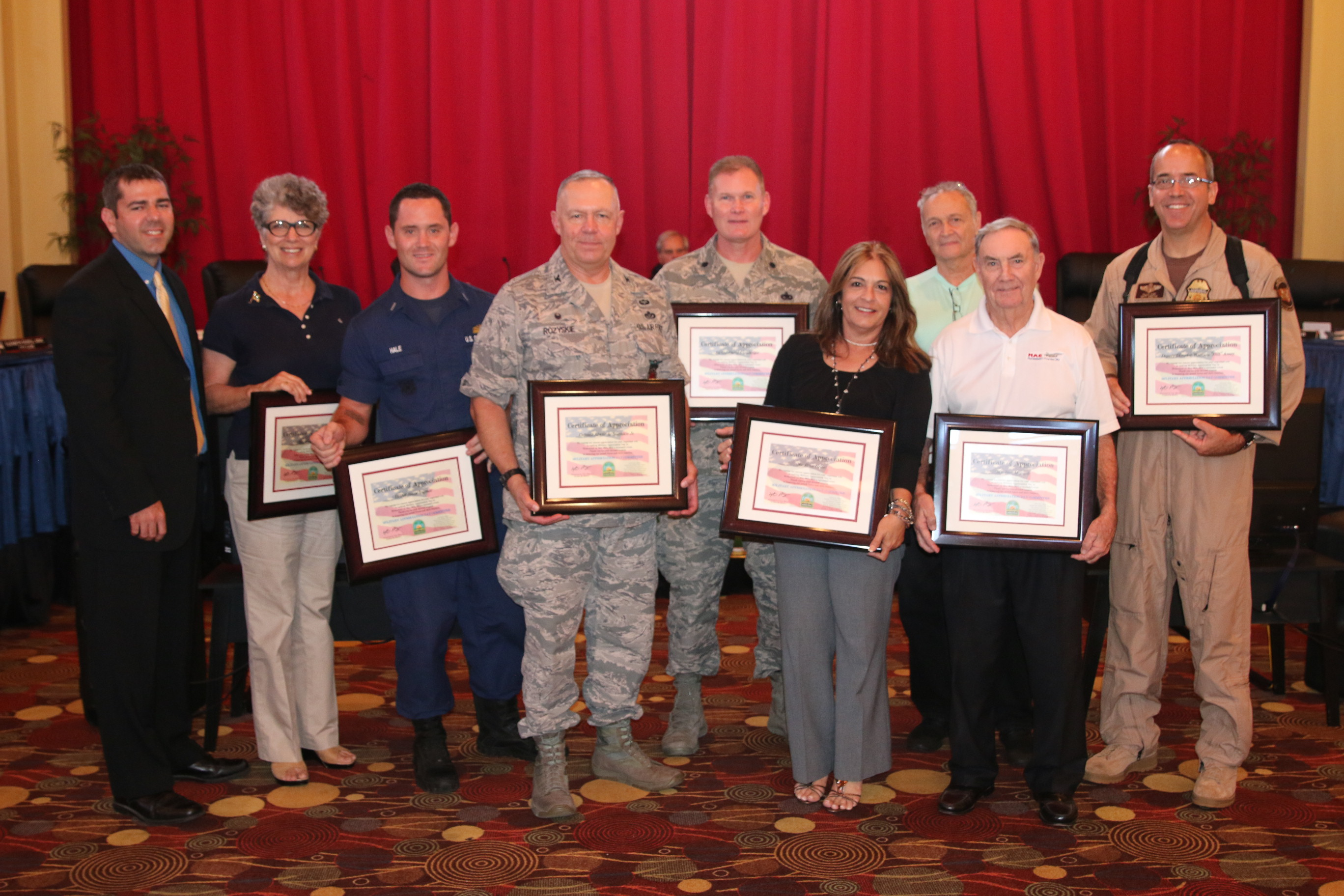Vice Mayor Shelley Honors Military Appreciation Day Committee