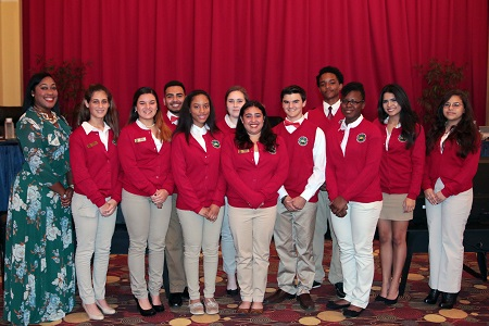 Vice Mayor Fairclough Welcomes New Mayor's Youth Council Members